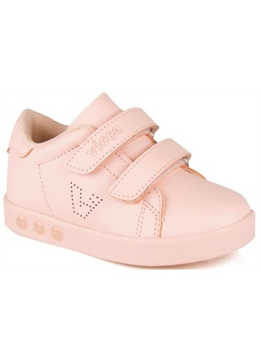 Vicco  313.E19K.100 Oyo Işıklı Kız/Erkek Çocuk Spor Ayakkabı Pudra